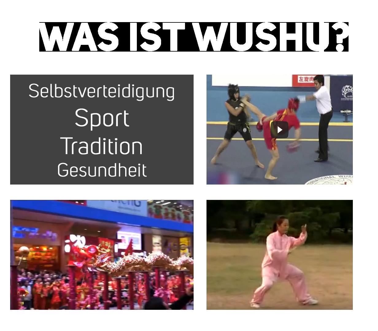 Was ist Wushu
