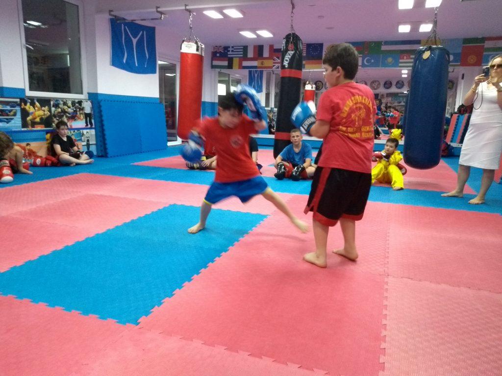 Boxen Ringen Sanda Wushu Training Kampfschule Kaarst